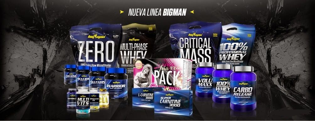100% professional whey big man productos