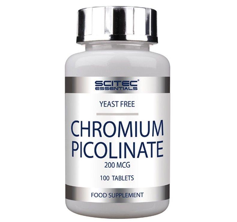 Picolinato de Cromo 200Mg 100 Tabletas Scitec