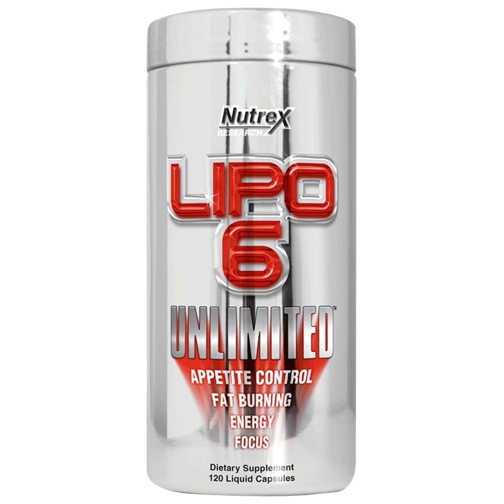 Lipo 6 Unlimited 120 caps.