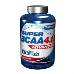 SUPER BCAA 4:1:1 ADVANCED 400 tabs.