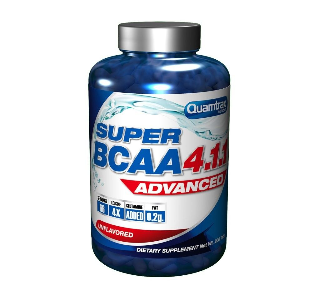 SUPER BCAA 4:1:1 ADVANCED 400 tabs.