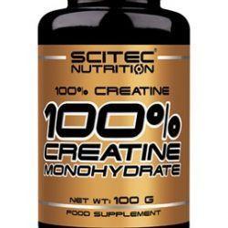100% Creatine Monohydrate 100 Grs.