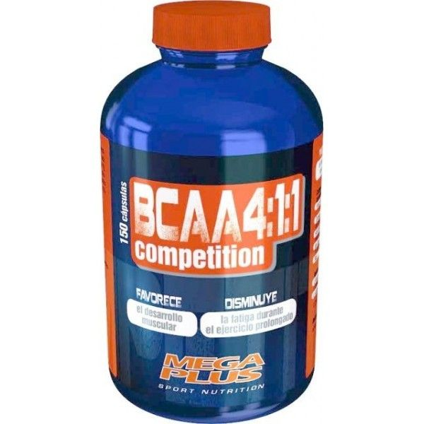 BCAA 4:1:1 COMPETITION 150 CAPS. MEGA PLUS