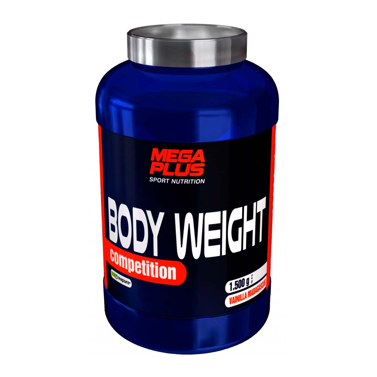 BODY WEIGHT COMPETITION 3 KG. MEGAPLUS