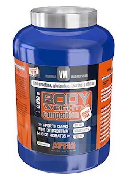 body weight competition megaplus