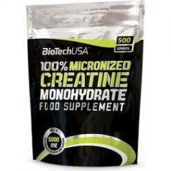 100% MICRONIZED CREATINE MONOHYDRATE BOLSA 500 grs.