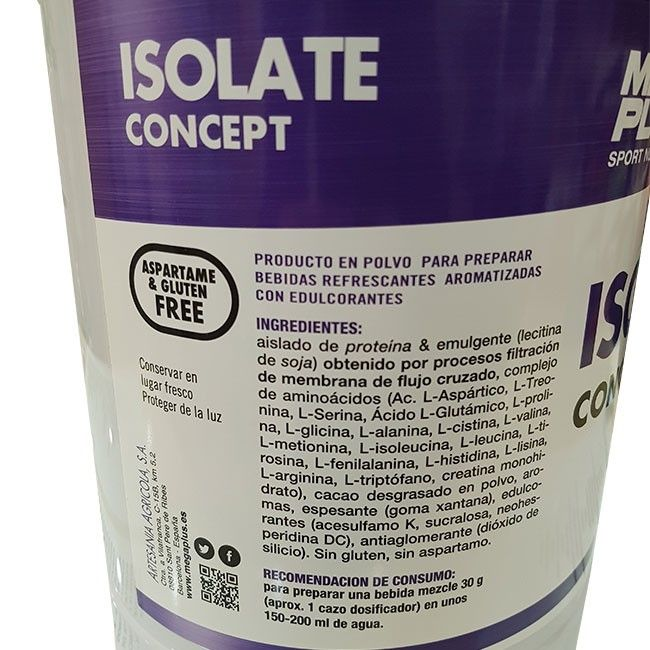 ISOLATE CONCEPT 2 kgs.