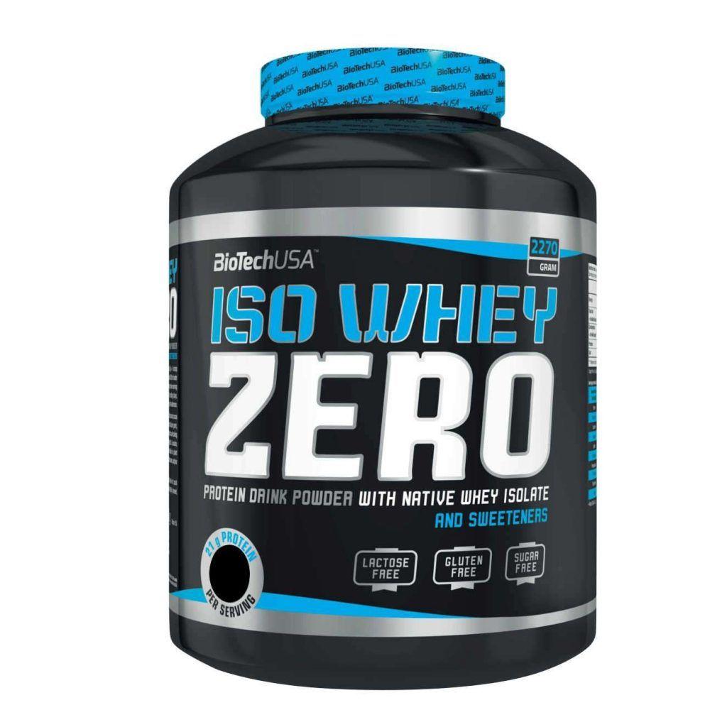 ISO WHEY ZERO 2.270 grs. BIOTECHUSA
