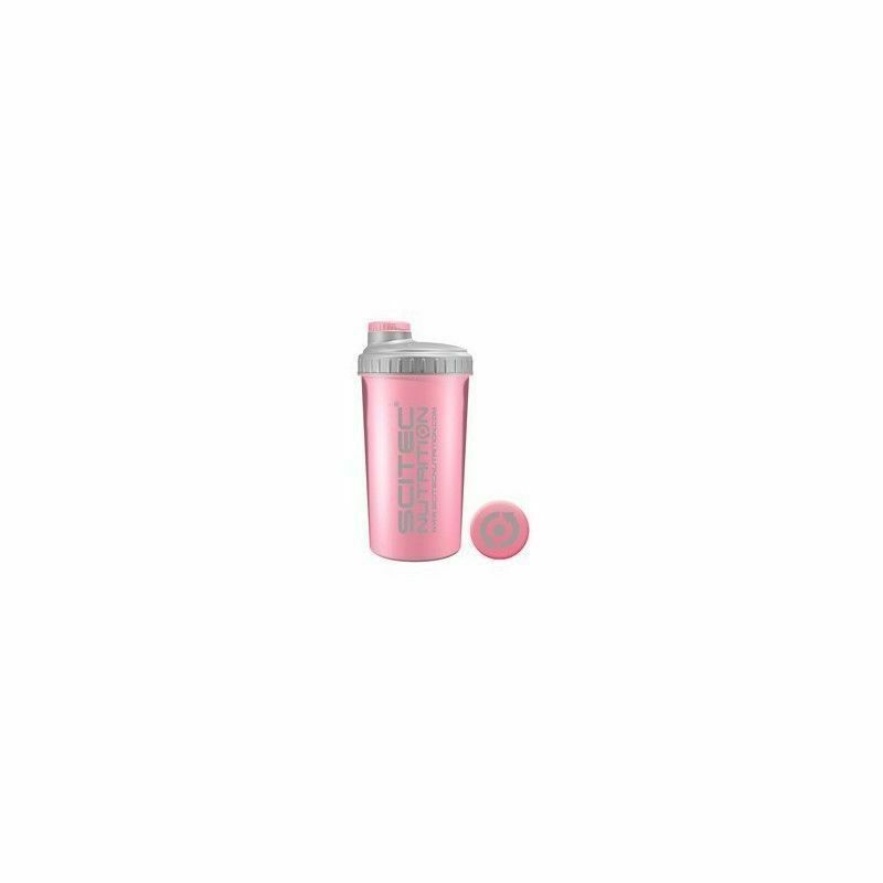 Batidor de proteinas rosa 700 ml. Scitec Nutrition