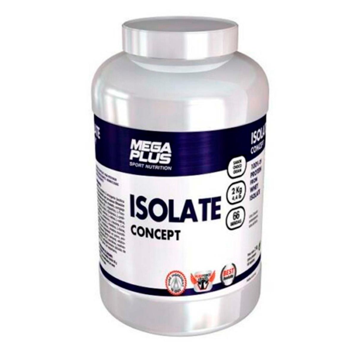 ISOLATE CONCEPT 1 kg. AISLADO DE PROTEINA + SHAKER - MEGAPLUS