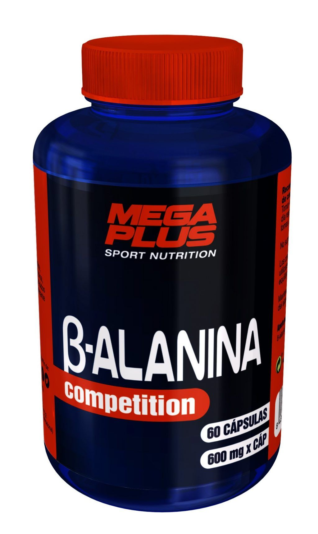 B-ALANINA 60 CAPS. MEGAPLUS
