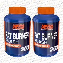 PACK 2 FAT BURNER FLASH 120 CAPS. MEGAPLUS