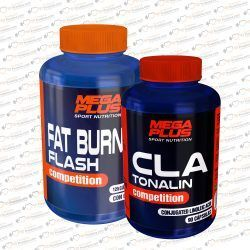 PACK CLA TONALIN + FAT BURNER FLASH MEGAPLUS