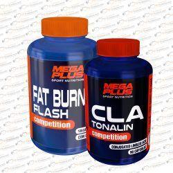 PACK CLA TONALIN + FAT BURNER FLASH MEGAPLUS