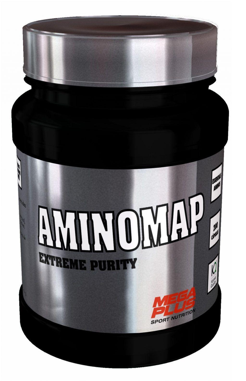 AMINOMAP EXTREME PURITY 200 caps. -MEGAPLUS